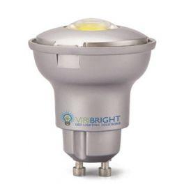 Spot LED GU10 4W5 230V blanc froid 60° 250 Lumens