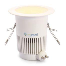 Plafonnier LED GU10 8W 230V blanc chaud 650 Lumens