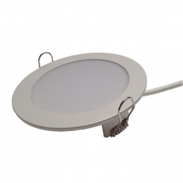 Plafonnier LED 7W 230V encastrable blanc neutre