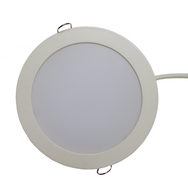 plafonnier led 12w 230v encastrable blanc neutre 13 50 occasions et d stockage eclairage led. Black Bedroom Furniture Sets. Home Design Ideas