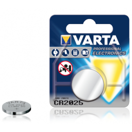Pile Lithium Varta CR2025 Lot de 5