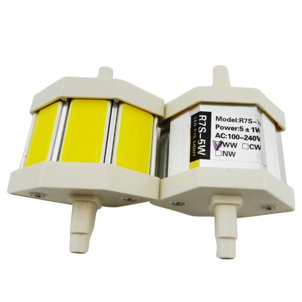 lampe led r7s 78 mm 5w 230v blanc chaud 450 lumens 20 02 lampes led 230v culot r7s. Black Bedroom Furniture Sets. Home Design Ideas