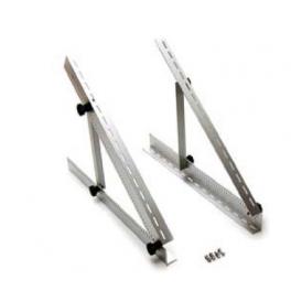 Support de fixation ajustable en aluminium 56 cm pour panneaux solaires