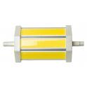 Lampe LED R7S 118 mm 10W 230V blanc chaud 850 Lumens