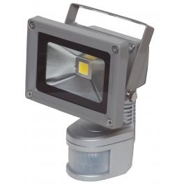 Projecteur LED 10W blanc chaud IR IP54 extérieur