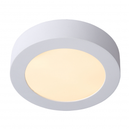 Plafonnier LED rond 12W blanc neutre montage apparent