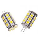 Lampe LED G4 3W 12VDC blanc chaud diamètre 20 mm