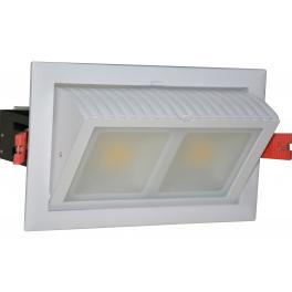 Plafonnier LED Pro encastrable orientable 48W 230V blanc neutre