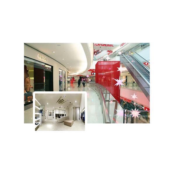 Plafonnier LED Pro encastrable orientable 38W 230V blanc