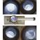 Loupe LED d'inspection corps aluminium lentille 30 mm