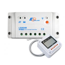 Kit régulateur LS2024B 20A et écran de contrôle MT-50