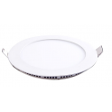 Plafonnier LED 6W 230V encastrable ultra fin teinte blanc neutre