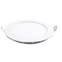 Plafonnier LED 12W 230V ultra fin encastrable blanc neutre
