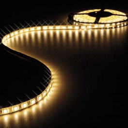 Ruban LED blanc chaud 12V 8 mm x 5m 300 LEDS IP65