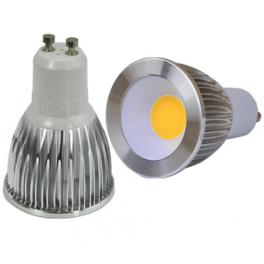 Spot LED GU10 230V 5W blanc neutre 45°