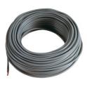 5 m Cable noir 4mm2 pour cablage des systèmes énergétiques