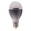 Ampoule LED bulbe douille E27, 5W 230V, blanc neutre