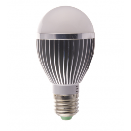 Ampoule LED bulbe douille E27, 5W 230V, blanc neutre