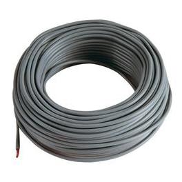 5m Cable noir 2,5 mm2 pour cablage des systèmes énergétiques