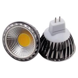 Spot LED GU5.3 12V COB 5W blanc neutre 90°