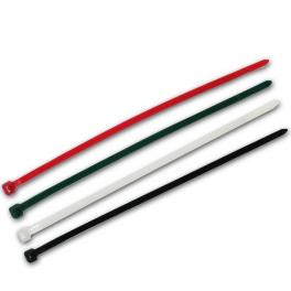 50 Colliers de serrage. Serre-câbles attache-câbles 4 couleurs 200 x 4,8 mm