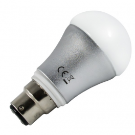 Ampoule LED B22 7W 230V blanc neutre 700 Lumens