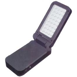 Torche LED de Travail clapet rechargeable avec aimant et crochet