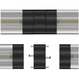 Adaptateur M/M pour Réglette LED aluminium