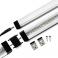 Réglette LED aluminium 0m50 69 LED SMD blanc chaud
