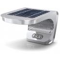 Eclairage solaire LED IP65 3W alu avec détecteur de mouvement 700 lumens
