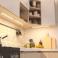 Réglette LED alu 0m30 39 LED SMD blanc chaud cache diffusant