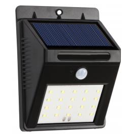 Eclairage solaire 6 LEDS IP54 à détecteur de mouvement