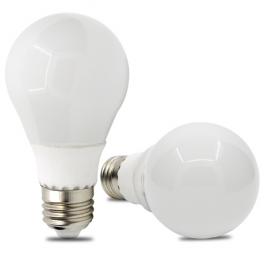 Ampoule LED bulbe E27, 9W 12V AC/DC, blanc chaud