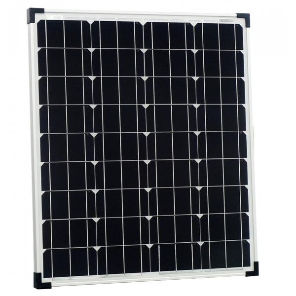 kit panneau solaire monocristallin 80w 12v et r gulateur. Black Bedroom Furniture Sets. Home Design Ideas