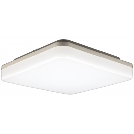 Plafonnier LED Design Carré 15W blanc neutre IP44