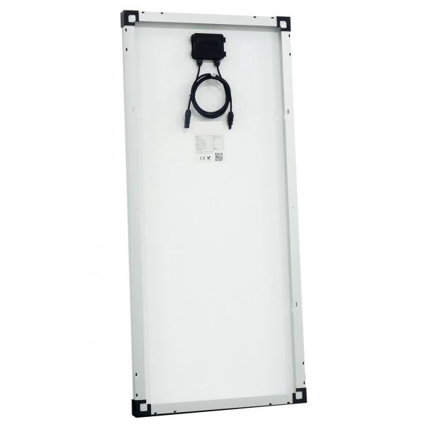 kit panneau solaire monocristallin 100w 12v et r gulateur. Black Bedroom Furniture Sets. Home Design Ideas