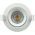 Spot LED 7W 230V encastrable orientable teinte blanc neutre