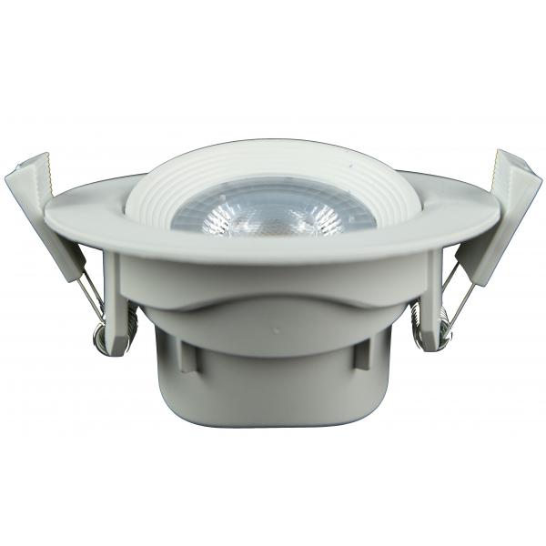 spot led 7w 230v encastrable orientable teinte blanc chaud 12 50 plafonniers et dalles led. Black Bedroom Furniture Sets. Home Design Ideas