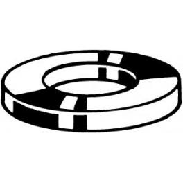 100 Rondelles plates M3 Acier Inoxydable A2