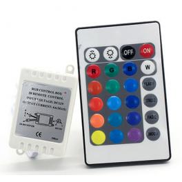 Contrôleur Ruban LED RGB 12V IR 24 Touches