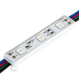 Module LED avec 3 LED SMD5050 RGB.