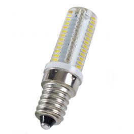 Lampe LED E14 silicone 3W5 230V blanc chaud diamètre 18 mm (1 ampoule)