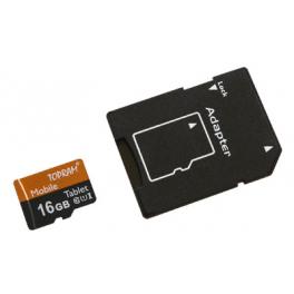 Carte mémoire Micro-SDHC, Classe de vitesse UHS1 & C10, Capacité  16Goctets