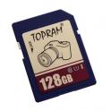 Carte mémoire SDXC, Classe de vitesse UHS1 & C10, Capacité  128Goctets