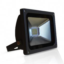 Projecteur LED 20W blanc chaud IP65 extérieur