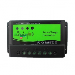 Régulateur solaire économique 10A 12V/24V