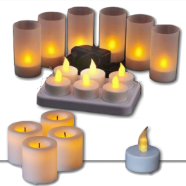 petites lampes d 39 ambiance veilleuses et bougies led ohm easy. Black Bedroom Furniture Sets. Home Design Ideas